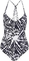 Mikoh Copacabana printed swimsuit