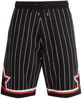 Givenchy Striped cotton-jersey shorts