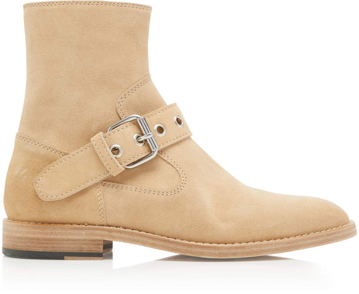 Maison Margiela Tall Buckled Ankle Boots