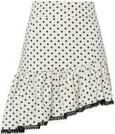 Suboo Frill Polka Dot Mini Skirt