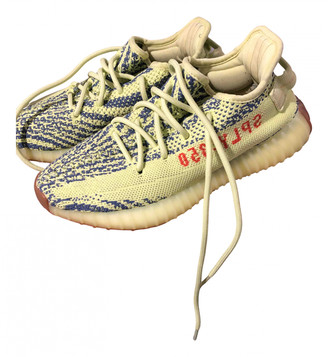 Yeezy Boost 350 V2 Yellow Rubber Trainers