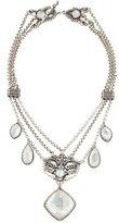 Konstantino Mother of Pearl & Quartz Aura Ornate Necklace