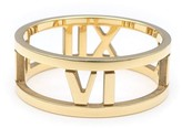 Tiffany & Co. 750 Yellow Gold Atlas Open Ring Size 6.5