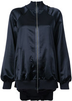 Maison Margiela satin bomber jacket - women - Cotton/Viscose - 48
