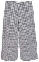 MANGO Gingham crop trousers