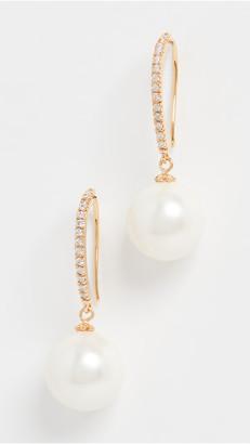 Theia Nora Imitation Pearl Drop Earrings