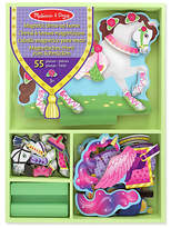 Melissa & Doug Magnetic Wooden Dress Up Doll and Horse