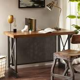 Madison Park Jasper Desk in Walnut/Graphite