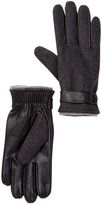 Amicale Solid Snap Cuff Gloves