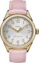 Timex Women's Briarwood Light Pink Strap with Silver/White Dial