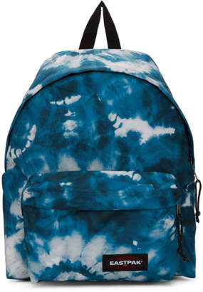 Eastpak SSENSE Exclusive Blue Tie Dye Padded Pakr Backpack