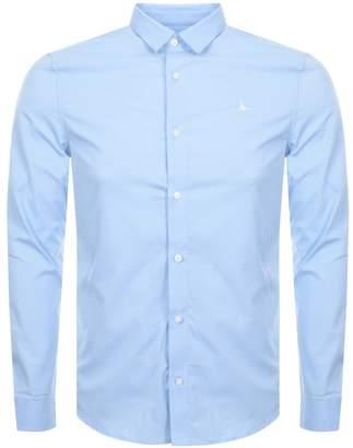 Jack Wills Hinton Stretch Shirt Blue