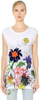 Stella McCartney Sleeveless Printed Cotton Jersey T-Shirt