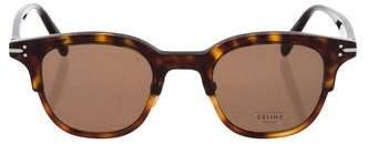 Celine Tortoiseshell Round Sunglasses w/ Tags