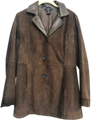 Brooks Brothers Brown Suede Jacket for Women