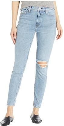 Hudson Barbara High-Rise Super Skinny Ankle with Deconstruction in Presto (Presto) Women's Jeans