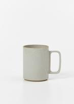Hasami gloss gray large mug