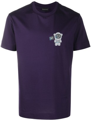 Emporio Armani Astronaut short sleeved T-shirt