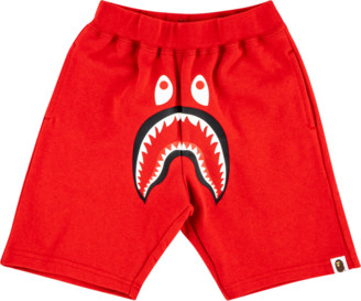 Bape Shark Sweatshirt Shorts
