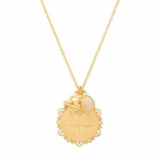 Tai Libra Zodiac Charm Necklace