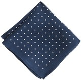 J.Crew Boys' silk pocket square in polka dot