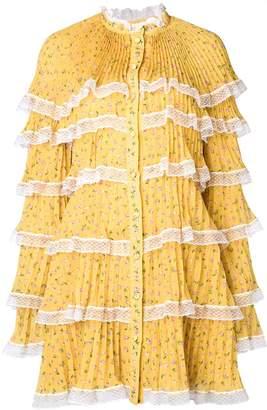 Philosophy di Lorenzo Serafini layered short dress