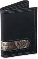 JCPenney Realtree Black Trifold Wallet