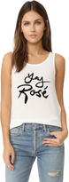 MinkPink Yay Rose Tank