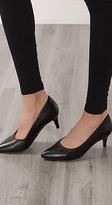 Esprit Leather classic court shoes