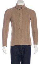 Dolce & Gabbana Cashmere Mock Neck Sweater