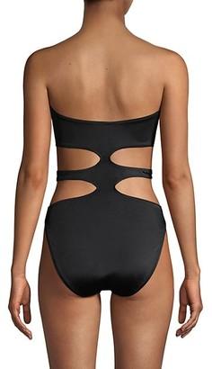 Norma Kamali 11/11 Mio Cutout One-Piece Swimsuit
