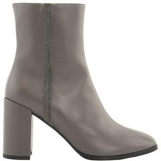 Fabiana Filippi Eleonora Leather Ankle Boots