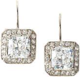 FANTASIA CZ Princess-Cut Earrings