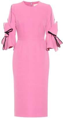 Roksanda Lavete crepe midi dress