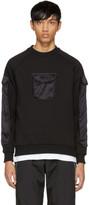 Cottweiler Black Silk Pockets Sweatshirt
