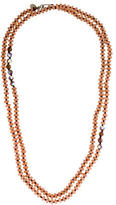 Chan Luu Sterling Quartz & Crystal Bead Strand Necklace