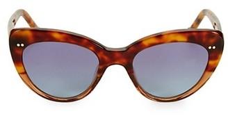 Colors In Optics Lolitaii 51MM Cat Eye Sunglasses