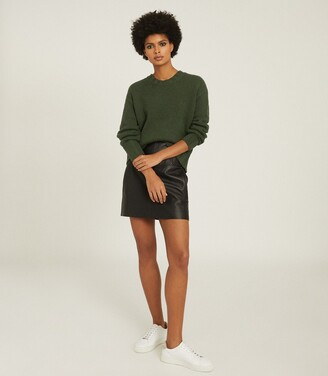 Reiss Cady - Open-back Jumper in Green