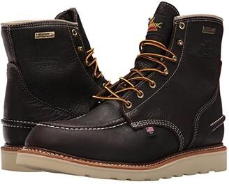 Thorogood AH-1957 6 Moc Toe Waterproof Soft Toe (Brown) Men's Boots