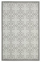 """Poole Light Gray/Anthracite Indoor/Outdoor Area Rug Charlton Home Rug Size: Rectangle 5'3"""" x 7'7"""""""
