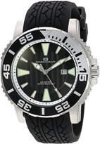 Oceanaut Men's 48mm Silicone Band Steel Case Quartz Analog Watch Oc2916
