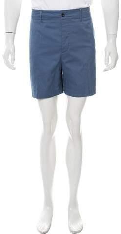 Gucci Twill Flat Front Shorts