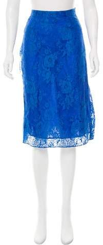 Tome Lace Knee-Length Skirt w/ Tags