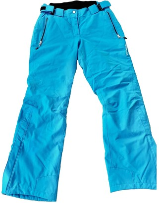 Vuarnet Blue Trousers for Women