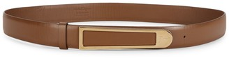 Salvatore Ferragamo Adjustable Leather Belt