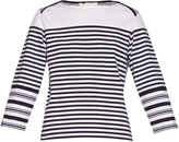 Stella McCartney Breton multi-striped cotton top