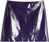 Nina Ricci Patent Leather Mini Skirt