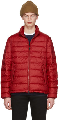 The Very Warm Red Liteloft Puffer Jacket