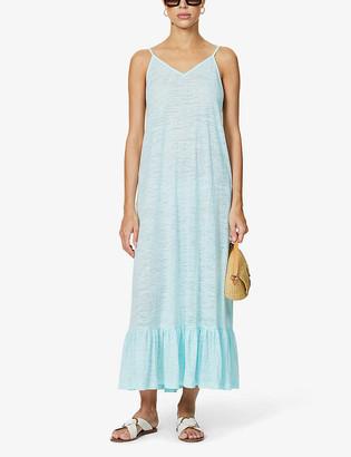 Pitusa Graphic-print cotton-blend maxi dress