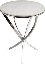 Surya Ryan Stainless Steel Side Table